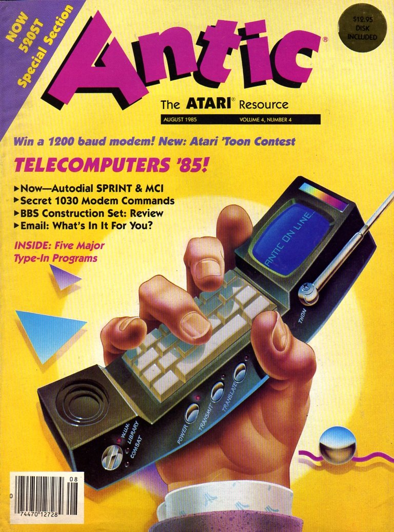 Antic Issue 034 August 1985