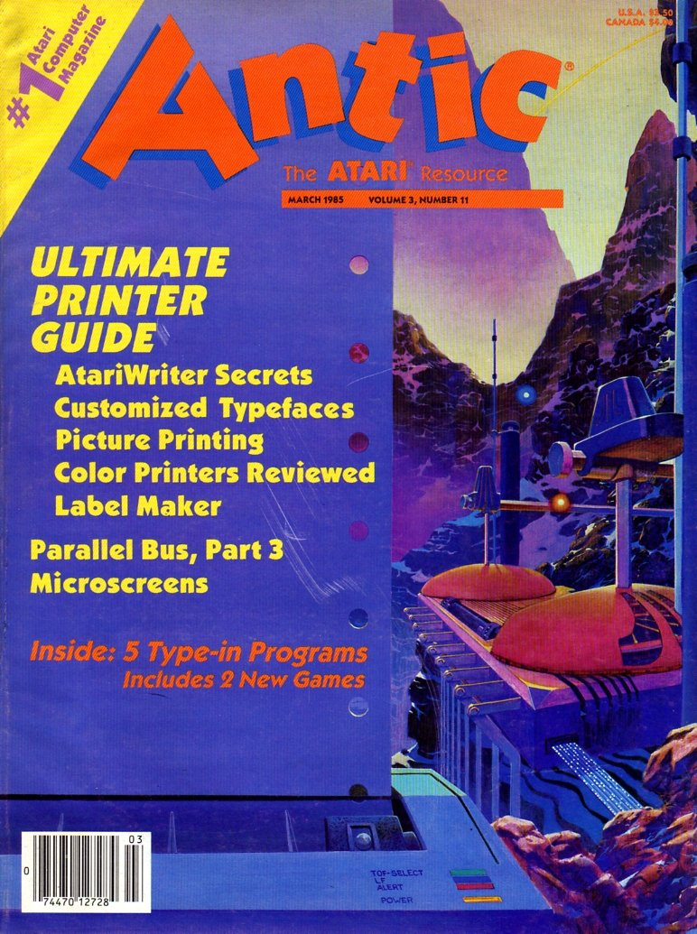 Antic Issue 029 March 1985