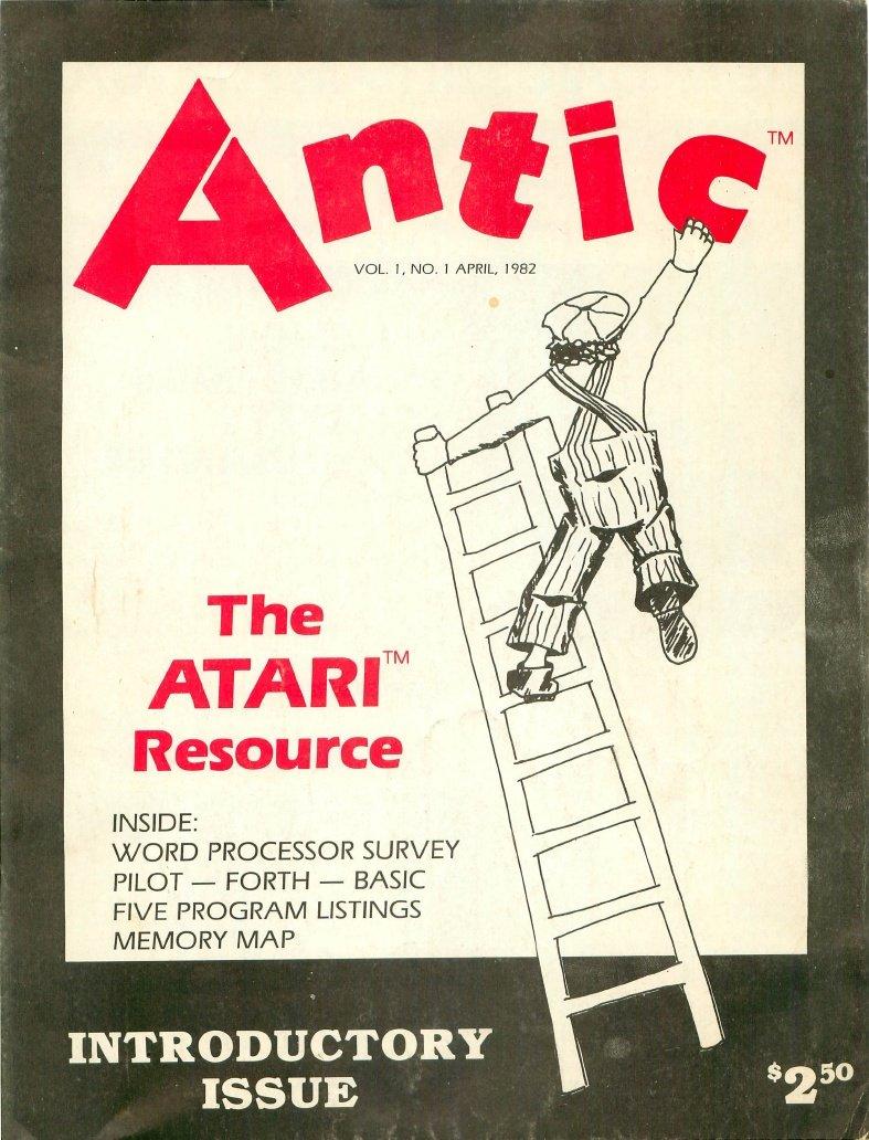 Antic Issue 001 April 1982