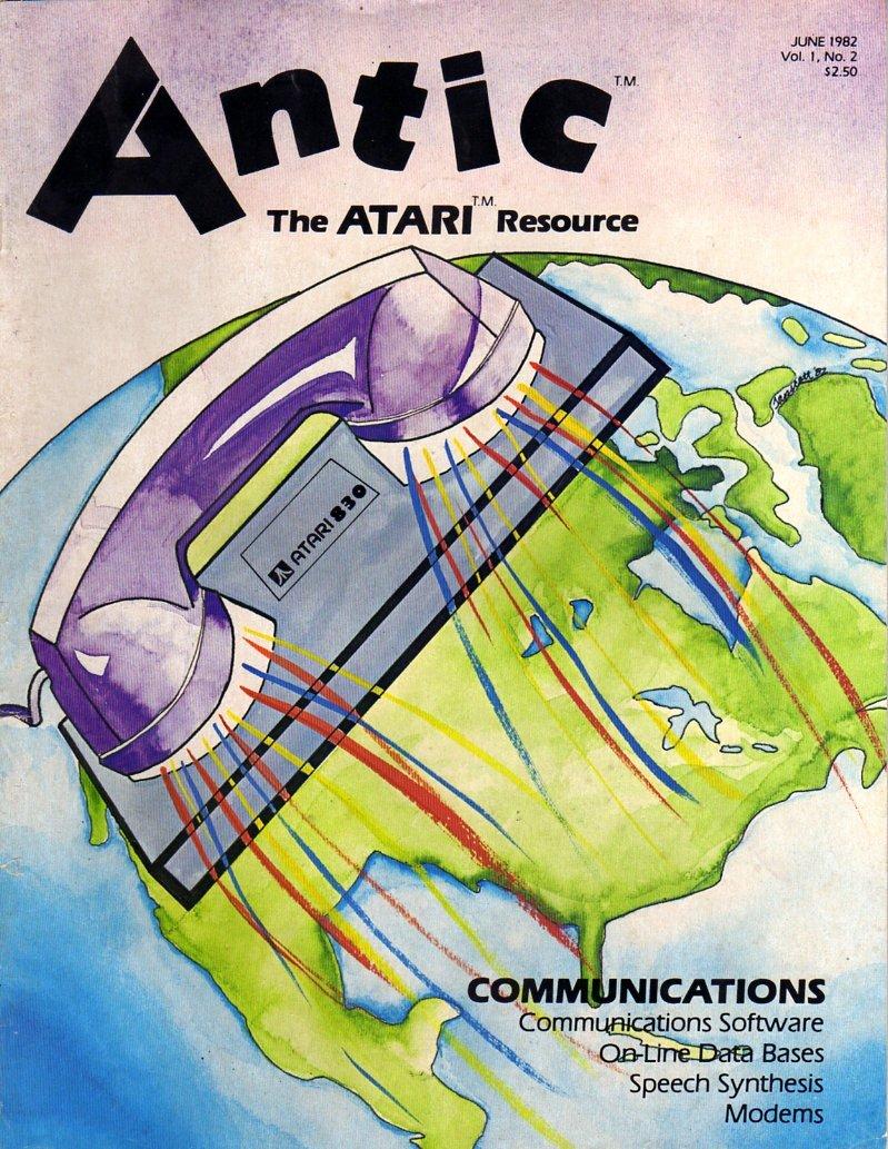 Antic Issue 002 June 1982