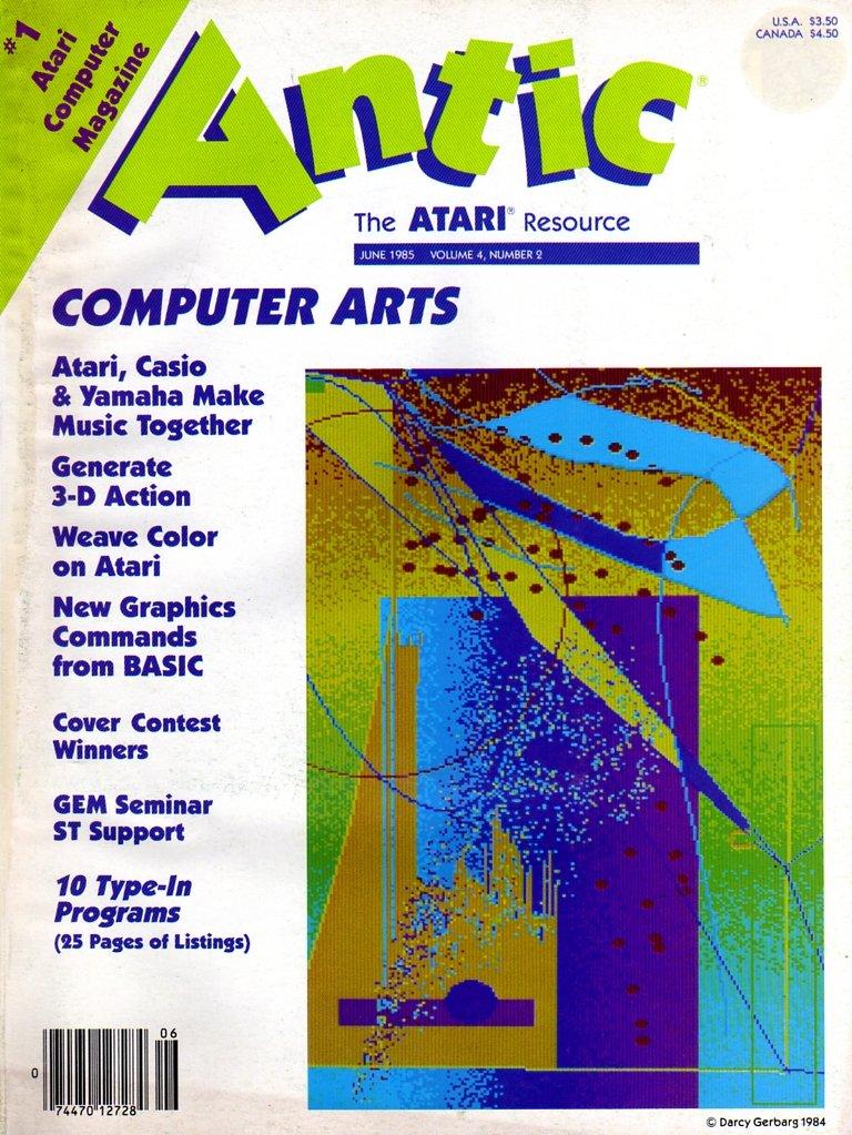 Antic Issue 032 June 1985