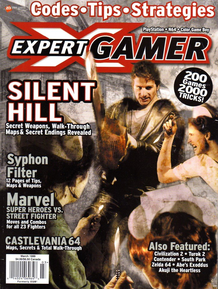 Expert Gamer Issue 57 (March 1999)