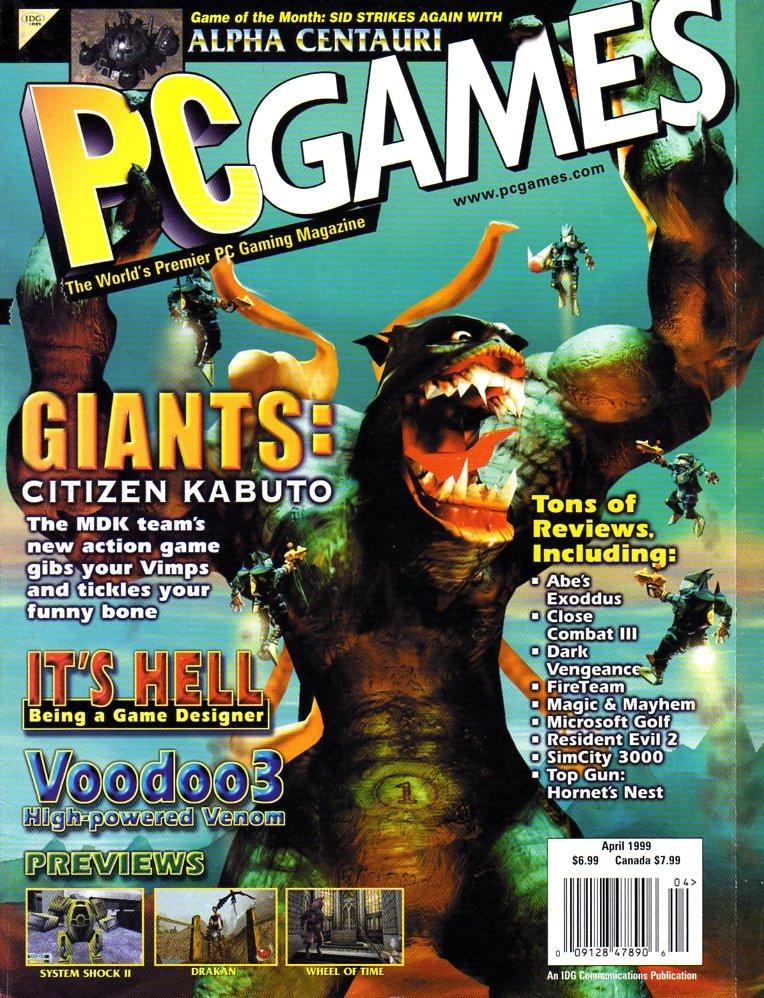 PC Games Vol. 06 No. 04 (April 1999) (Final Issue)
