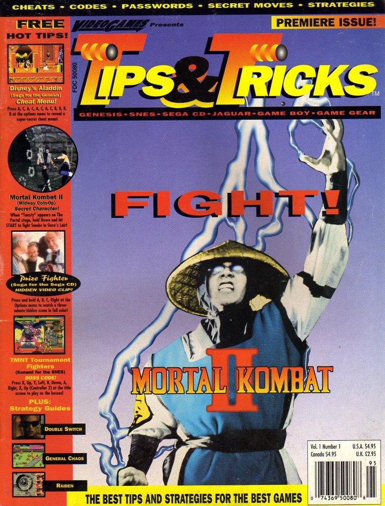 Tips & Tricks Issue 001 Spring 1994