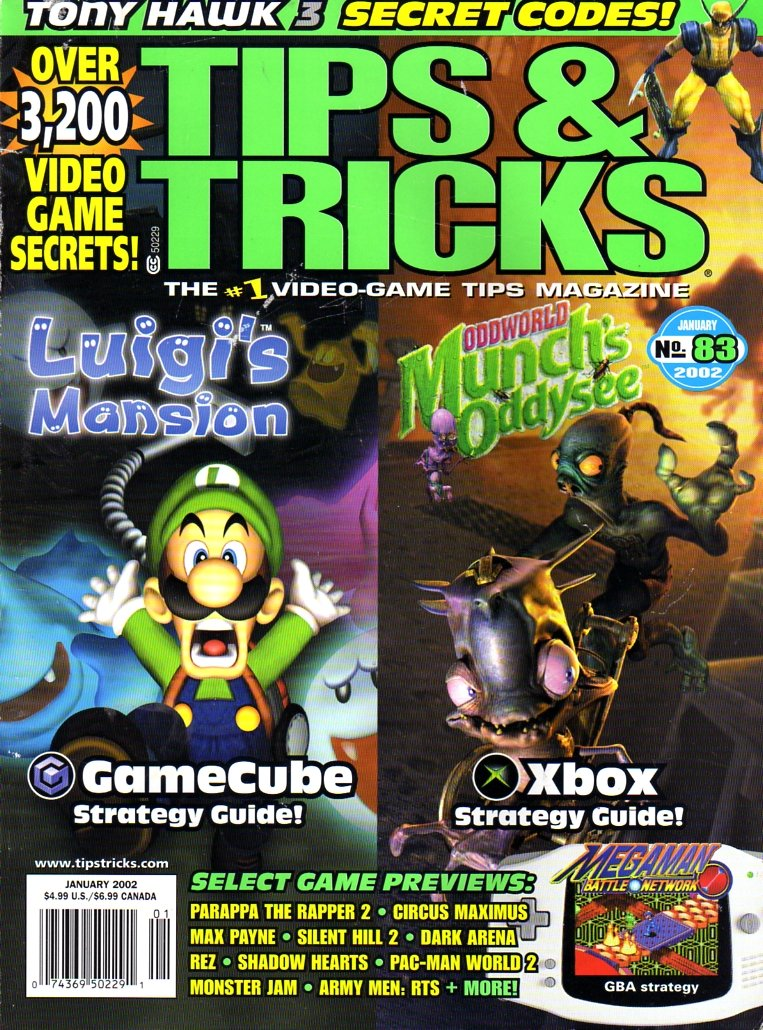 Tips & Tricks Issue 083 January 2002