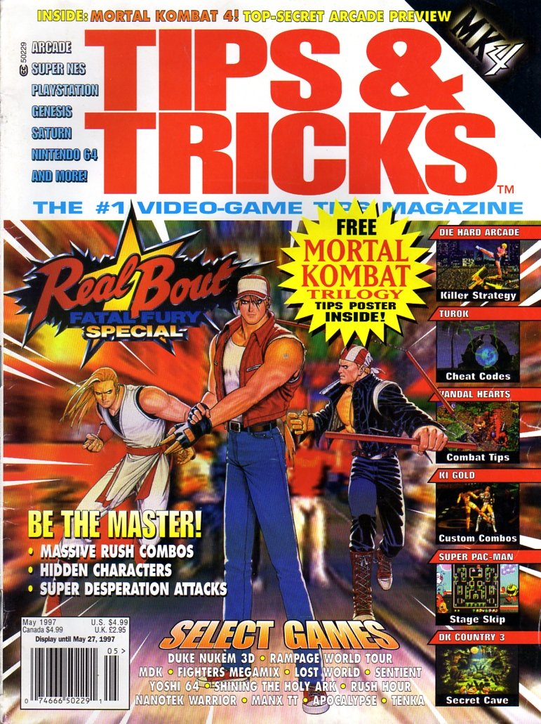 Tips & Tricks Issue 027 May 1997