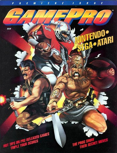 GamePro #1 cover