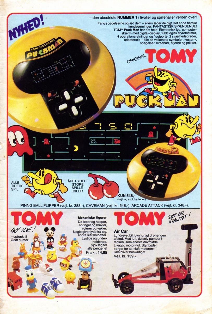 Danish Pac-Man Ad