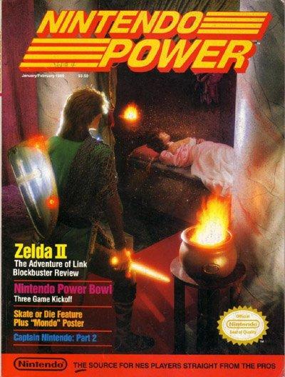 Nintendo Power 04 Cover