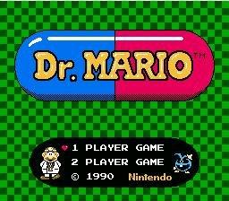 Dr. Mario Title Screen