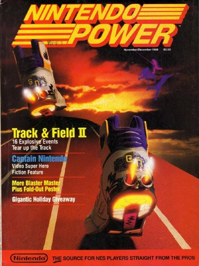 Nintendo Power #3 Cover