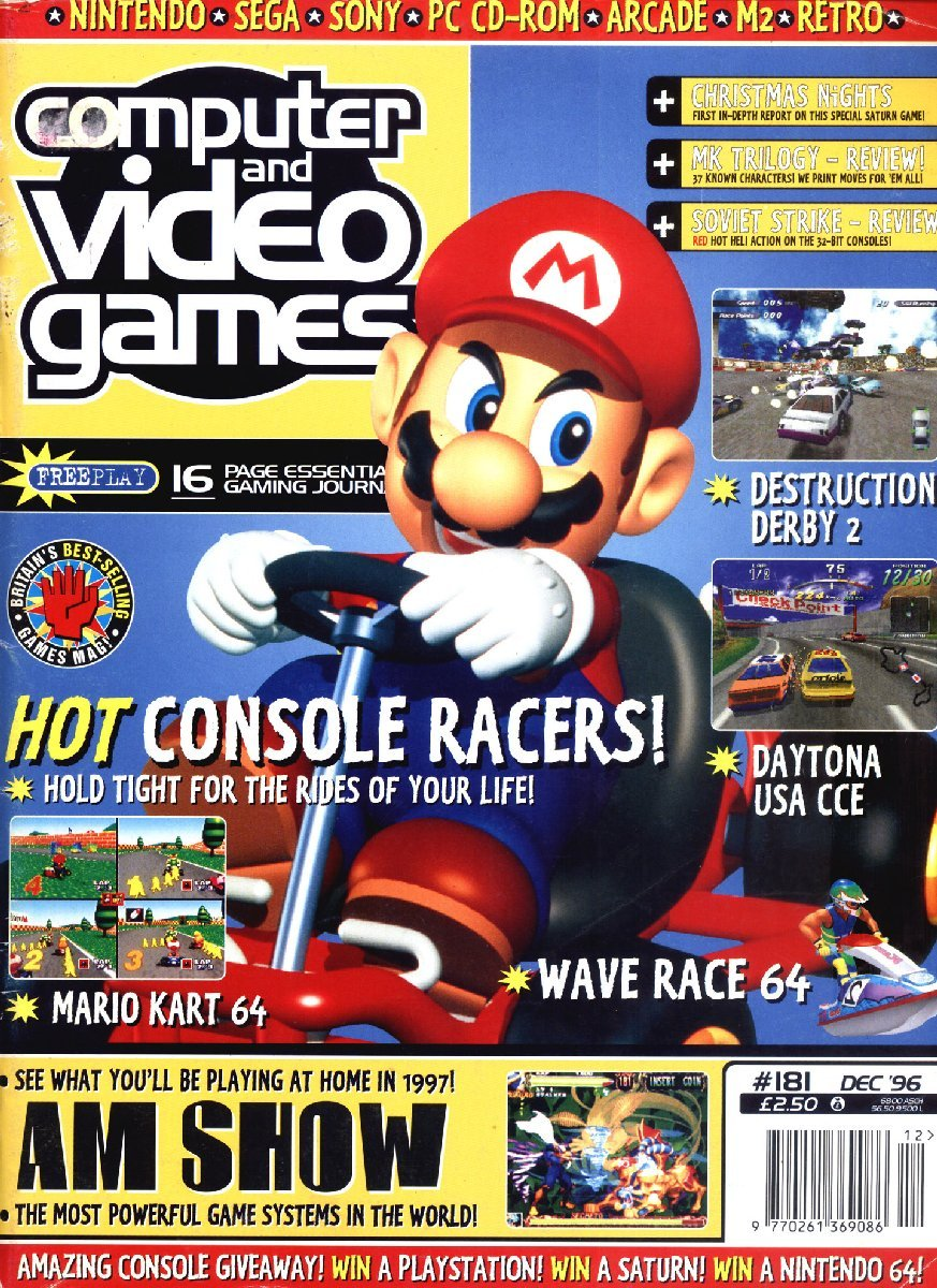 Computer & Video Games Issue 181