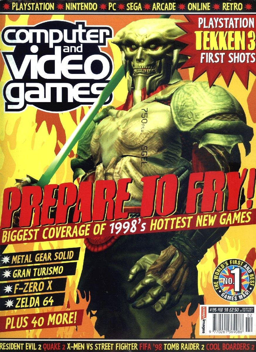 Computer & Video Games Issue 195