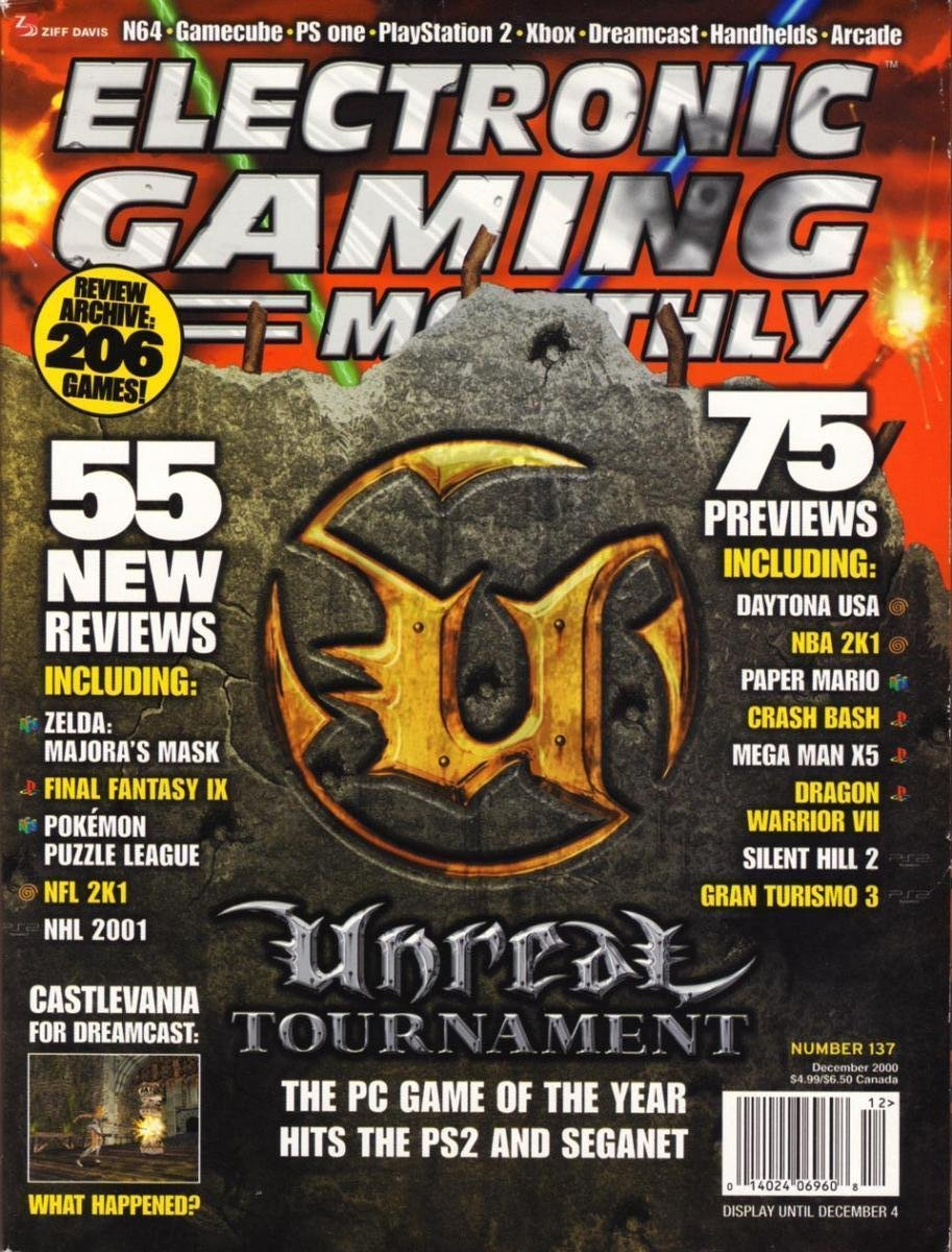 Electronic Gaming Monthly Issue 137 - Electronic Gaming