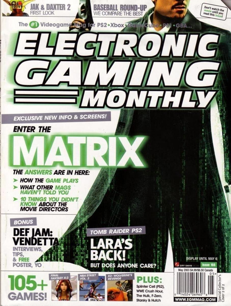 EGM 166 May 2003 cover 2