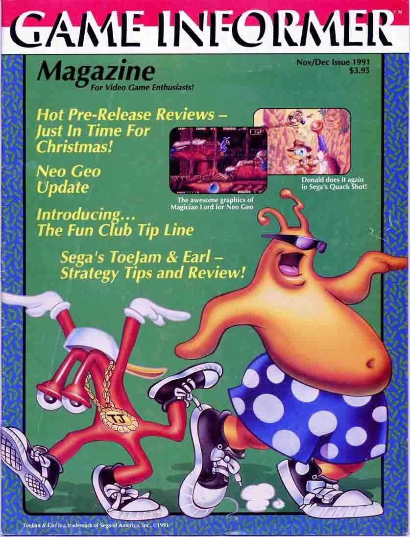 Game Informer Issue 002 November/December 1991