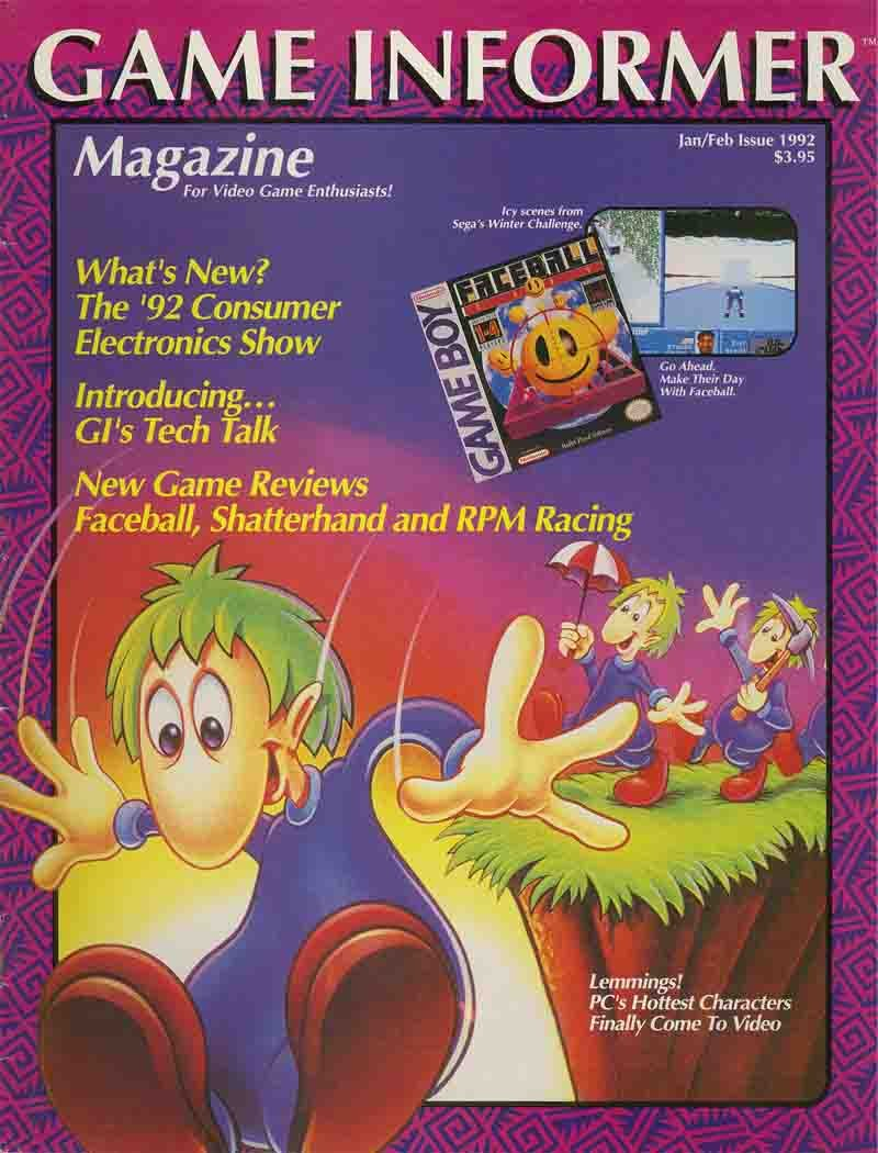 Game Informer Issue 003 January/February 1992
