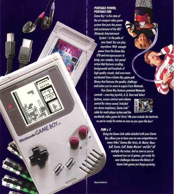 Game Boy Brochure