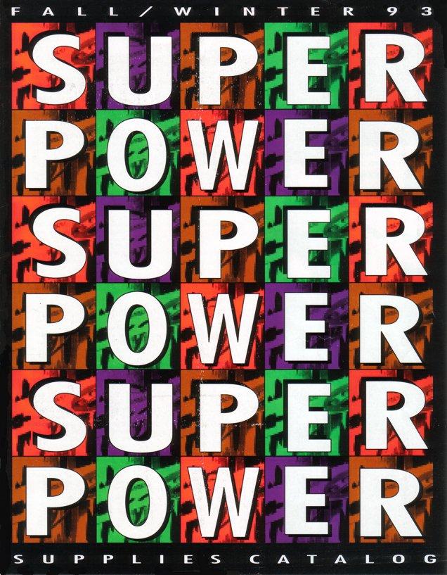 Nintendo  Power Supplies Catelog Fall Winter 1993