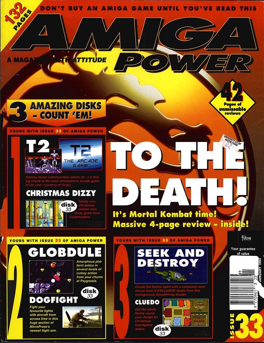 amiga power No 33 Jan 1994