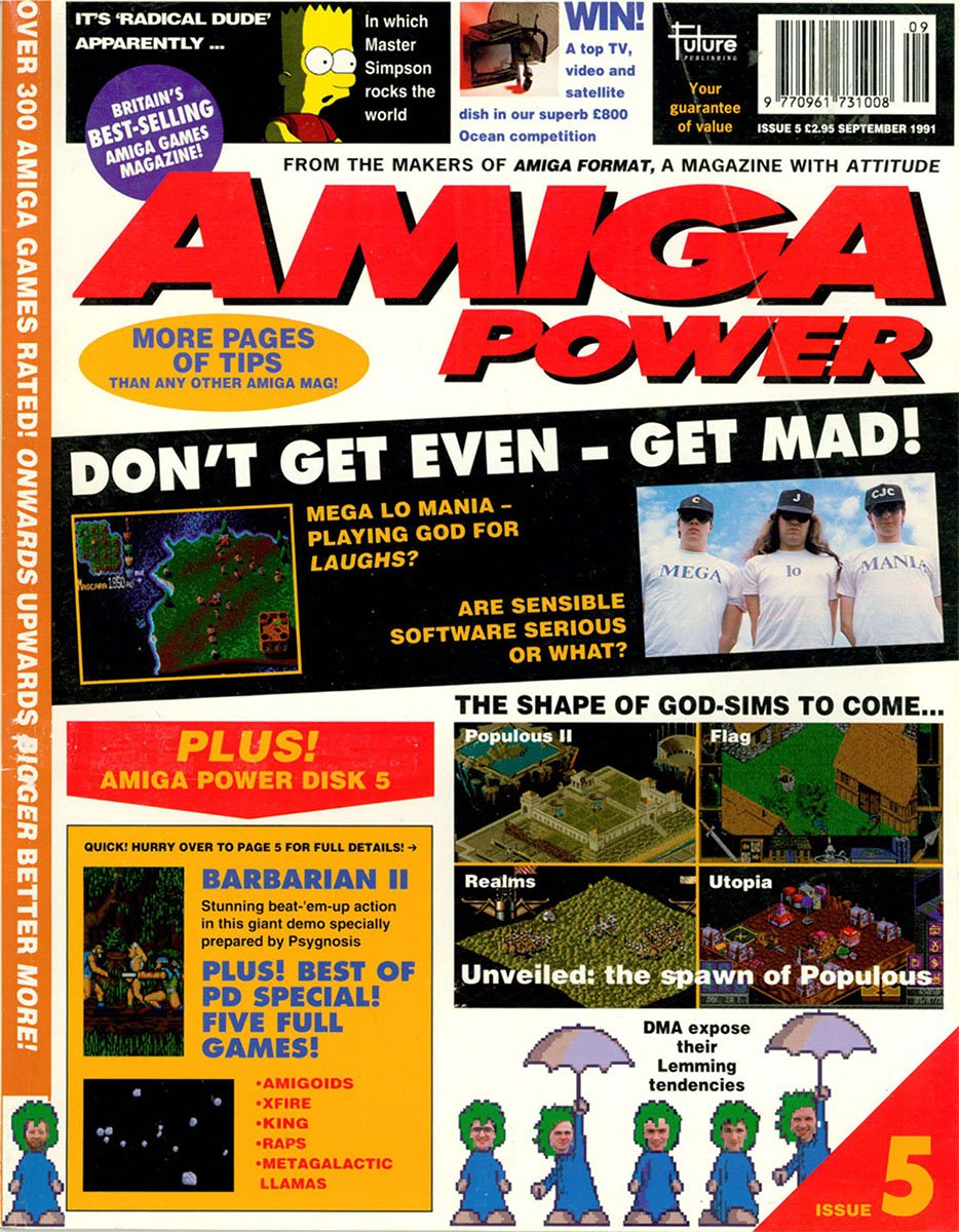 amiga power No 5 Sep 1991
