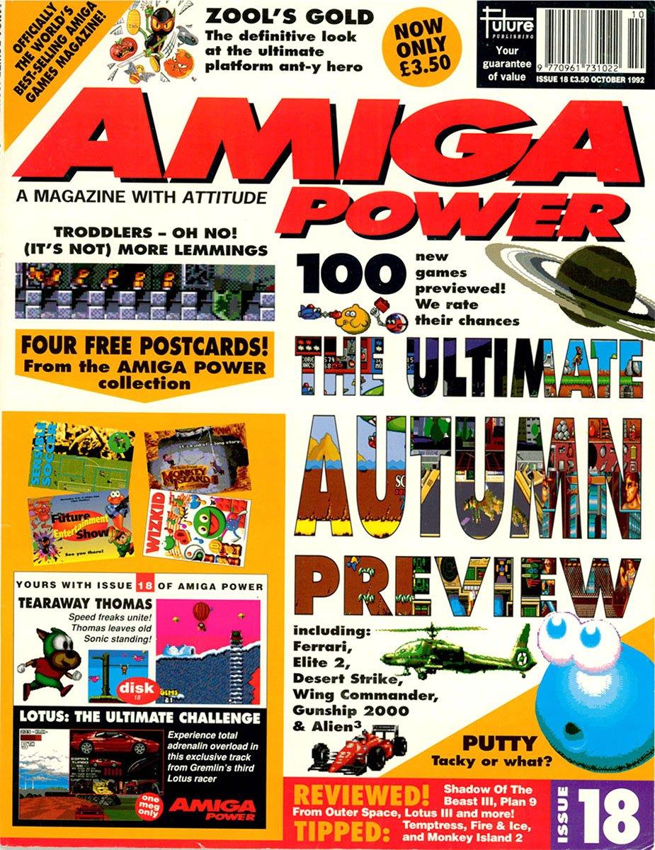 amiga power No 18 Oct 1992