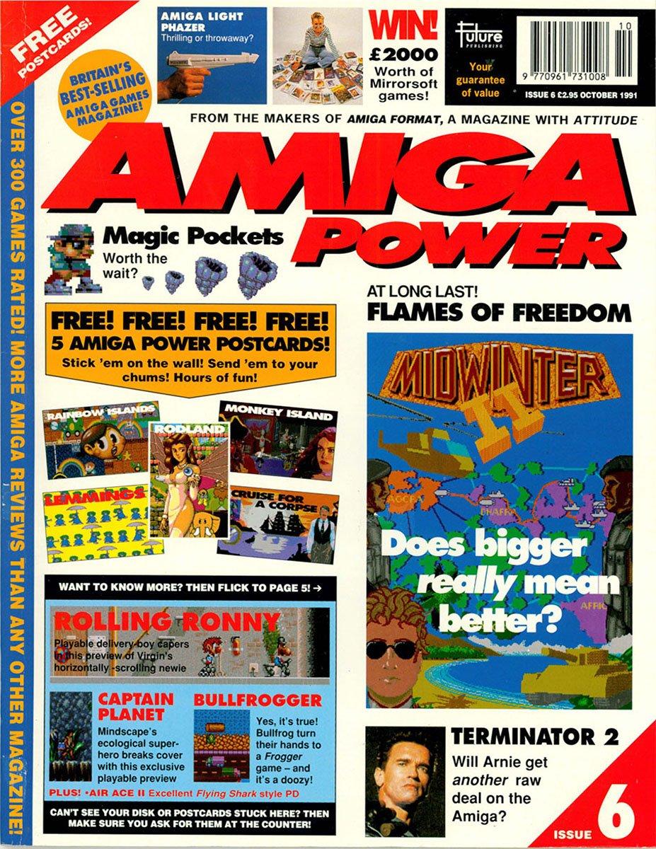 amiga power No 6 Oct 1991