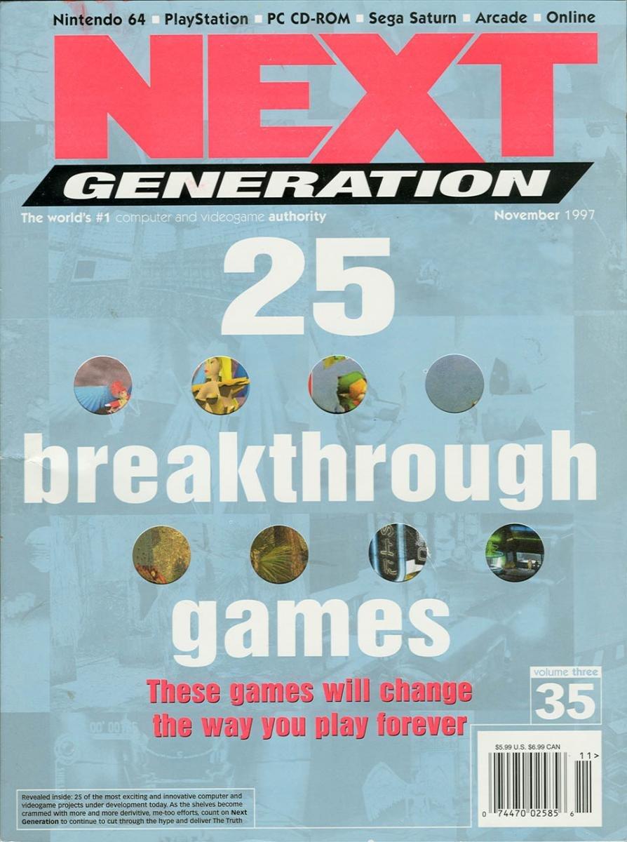 Next Generation Issue 35 November 1997