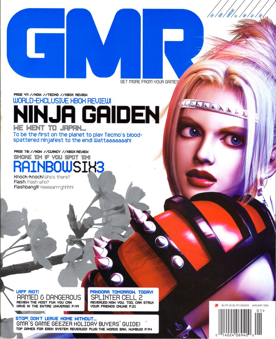 GMR Issue 12 January 2004 cover 1