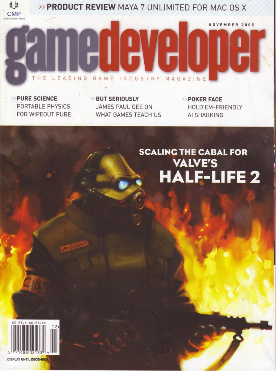 Game Developer 118 Nov 2005