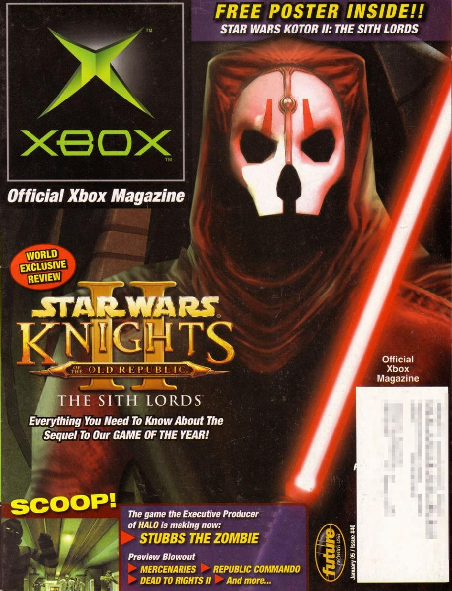 Official Xbox Magazine 040 January 2005