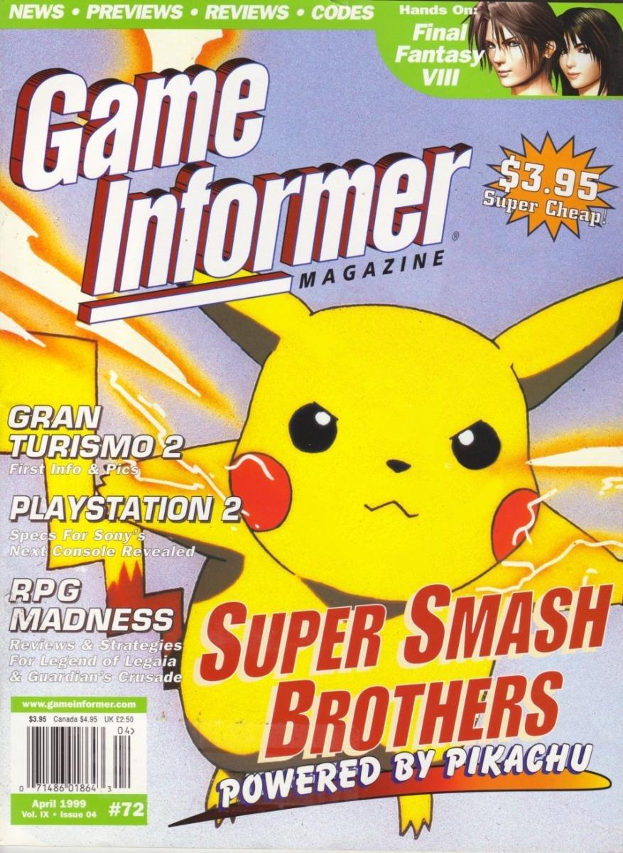 Game Informer Issue 072 April 1999