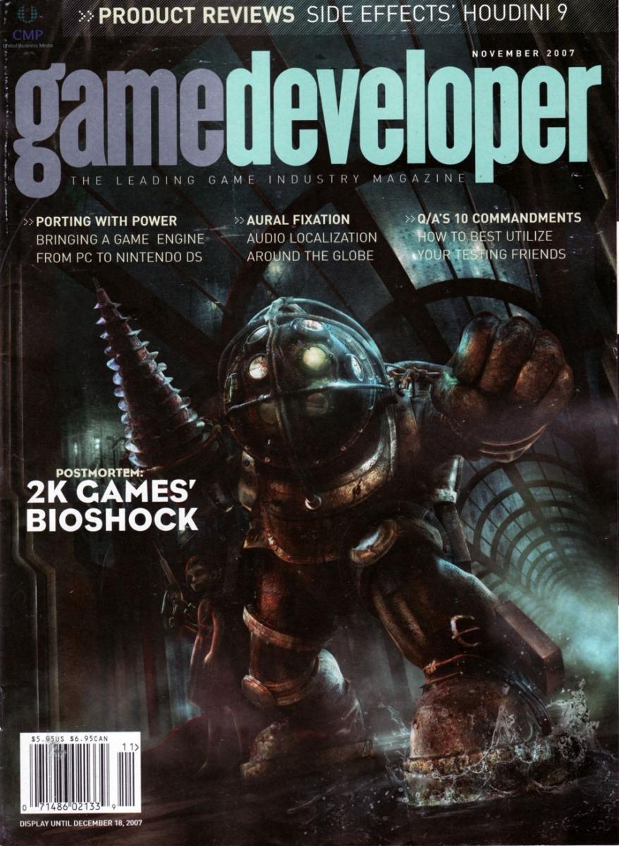 Game Developer 140 Nov 2007