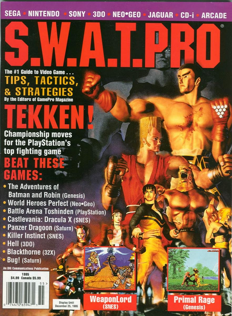 S.W.A.T.Pro Issue 26 November 1995