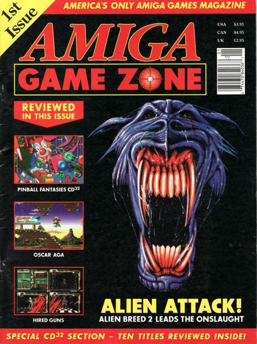 Amiga Game Zone Issue 001