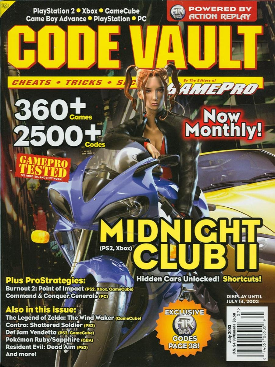Code Vault Issue 11 July 2003
