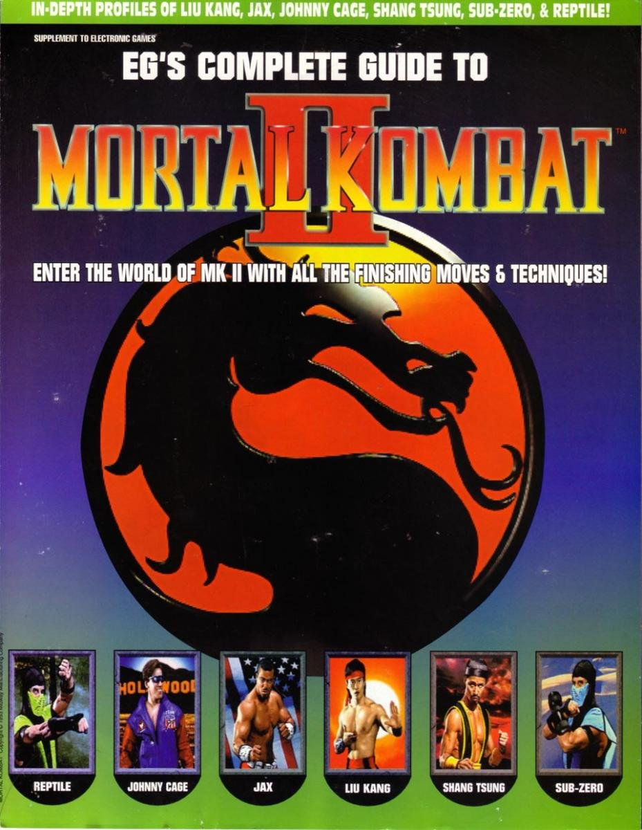 EG's Complete Guide To Mortal Kombat II
