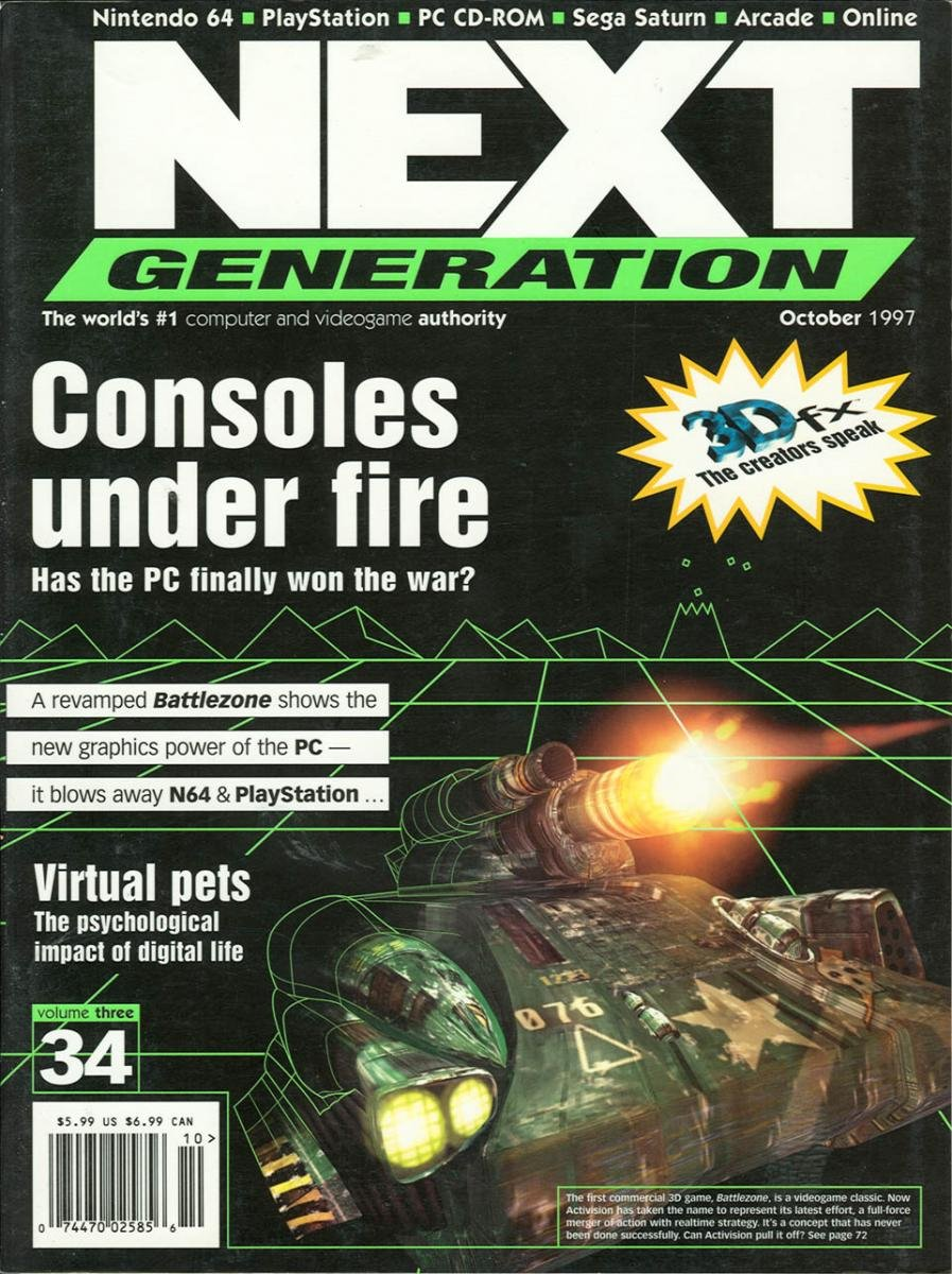 Next Generation Issue 34 October 1997