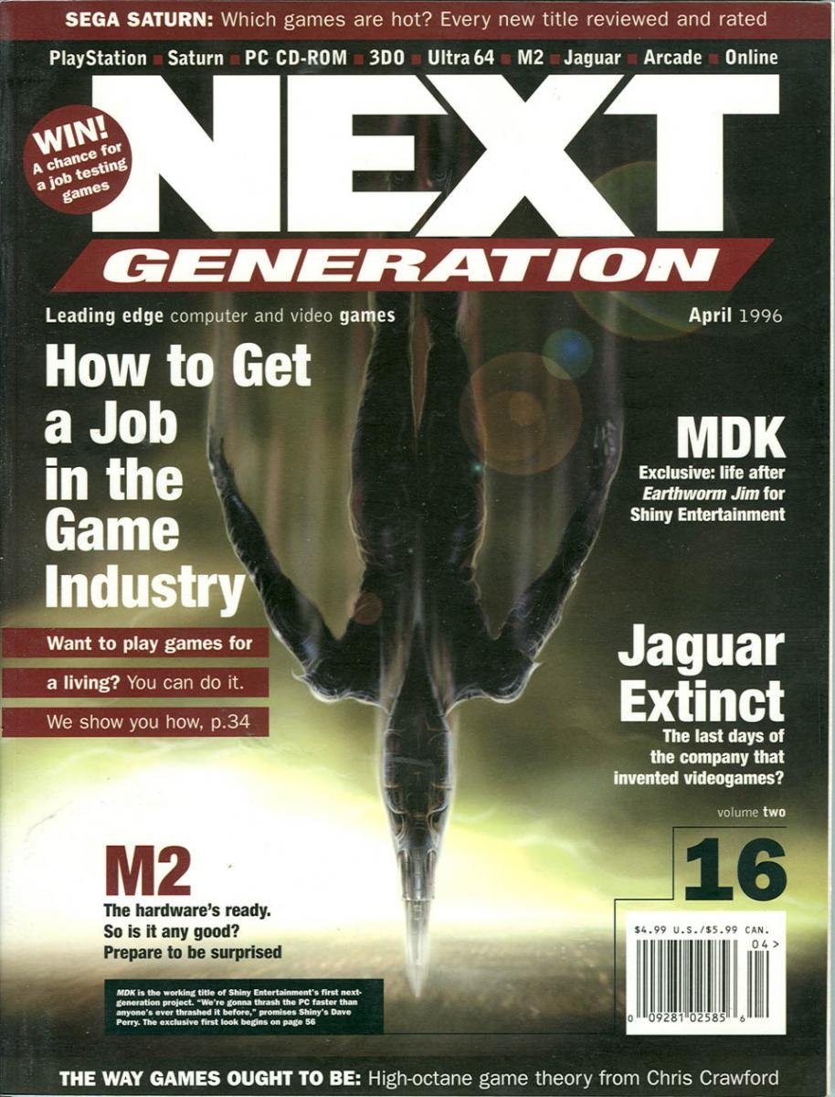 Next Generation Issue 16 April 1996