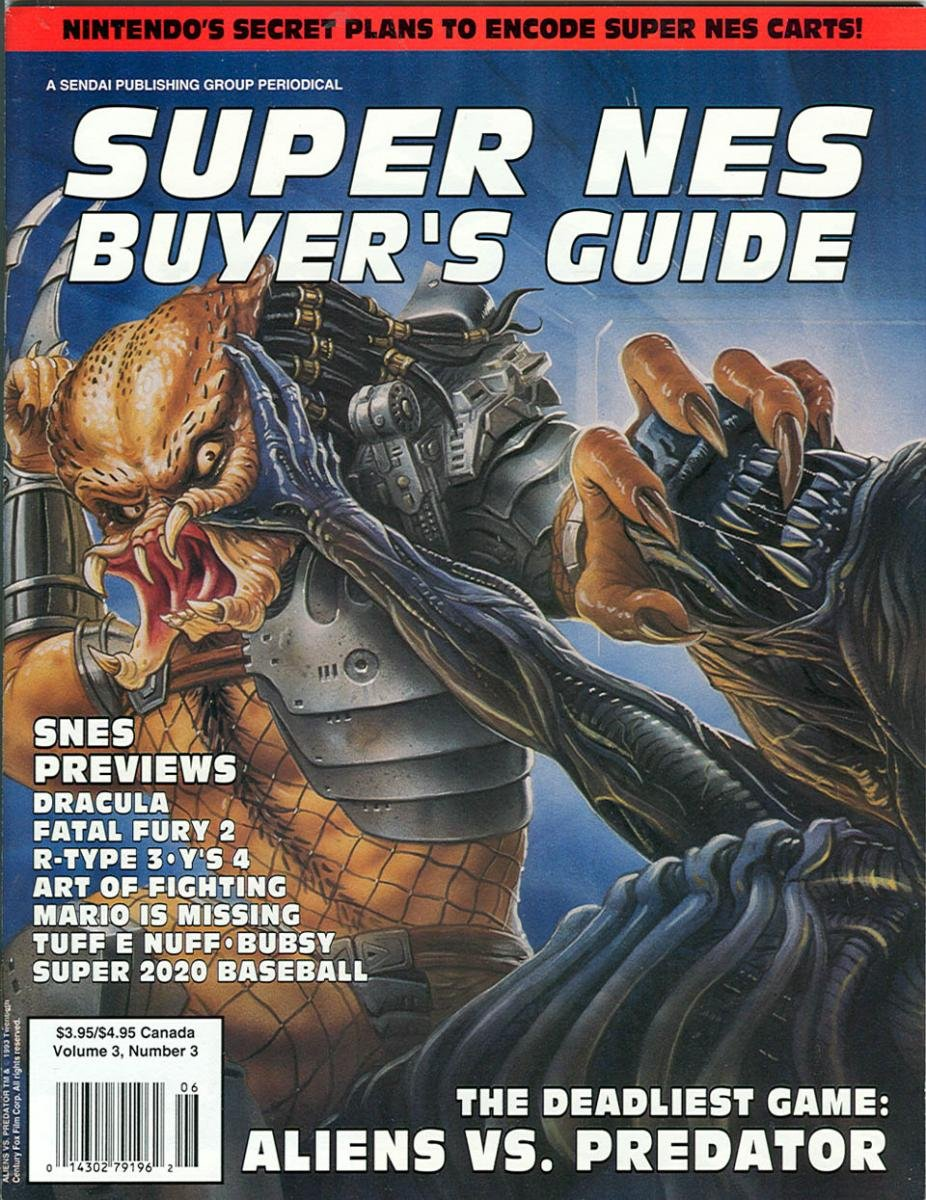Super NES Buyer's Guide Issue 08 May 1993