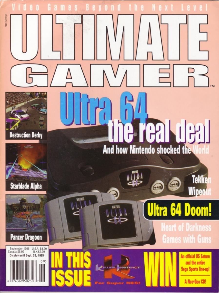 Ultimate Gamer Issue 2 (September 1995)