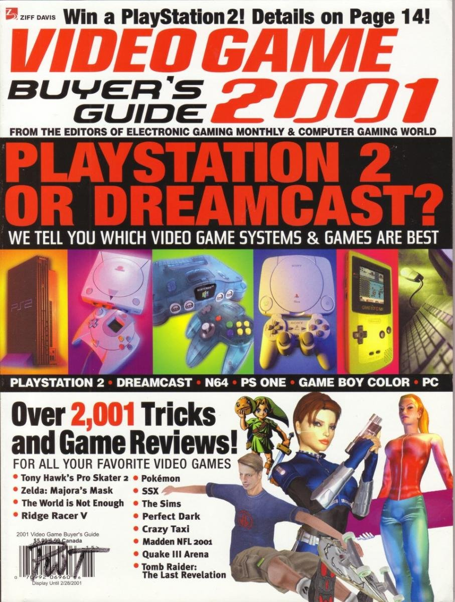 2001 Video Game Buyer's Guide