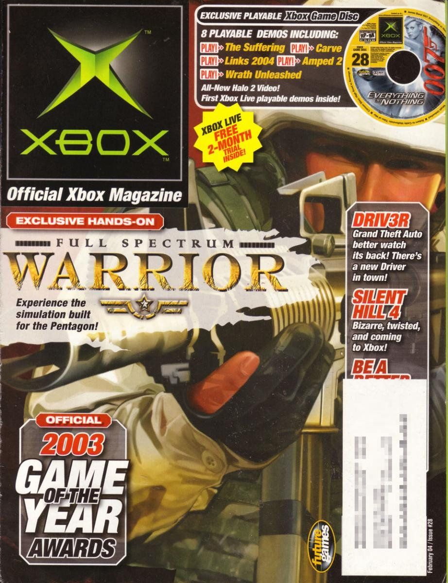 Official Xbox Magazine 028 February 2004