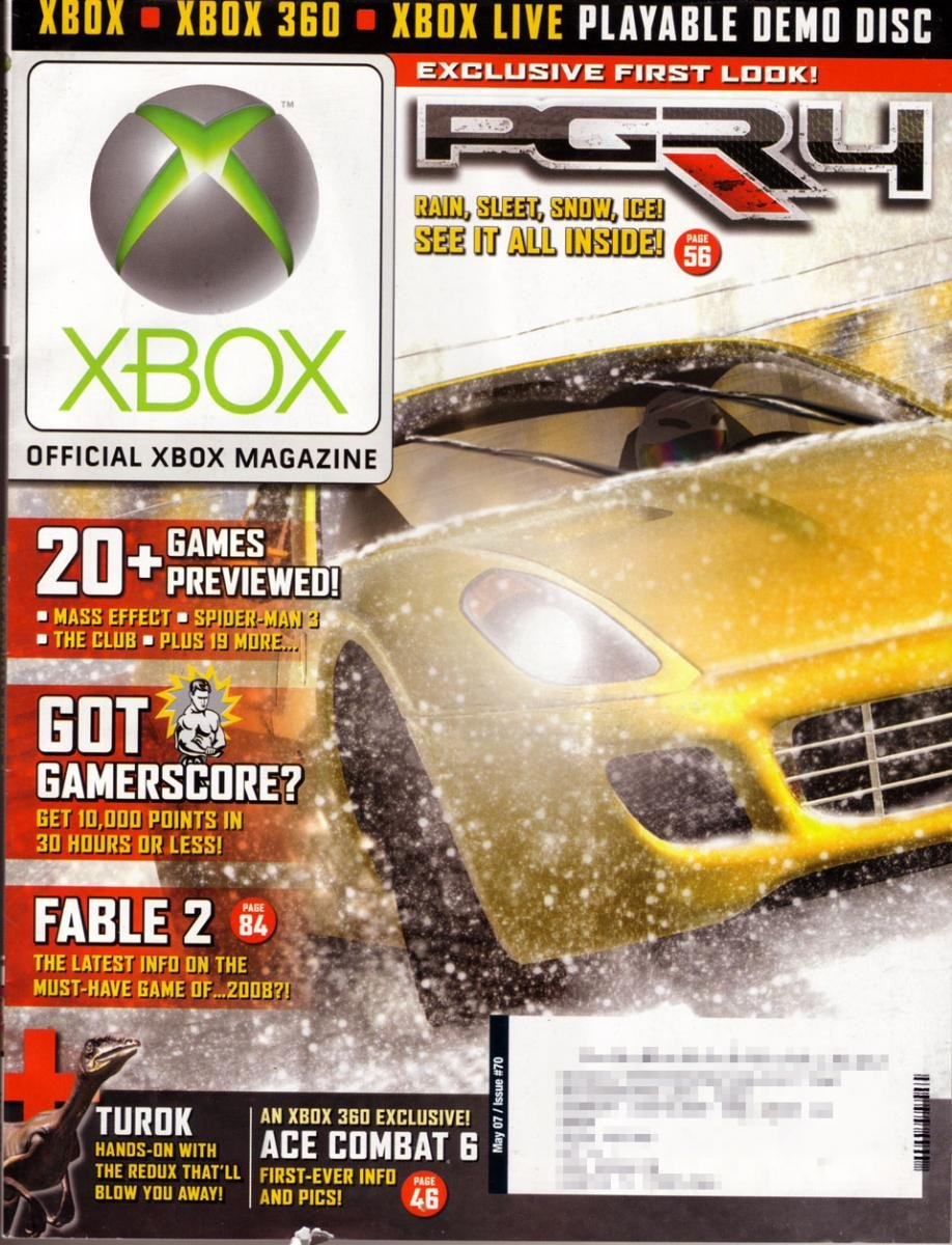 Official Xbox Magazine 070 May 2007