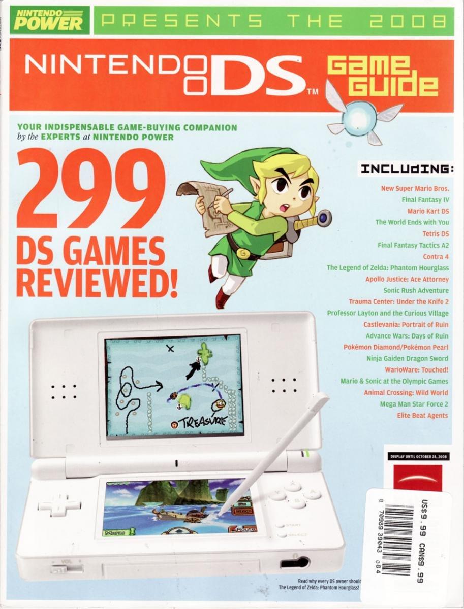 Nintendo Power 2008 Nintendo DS Game Guide