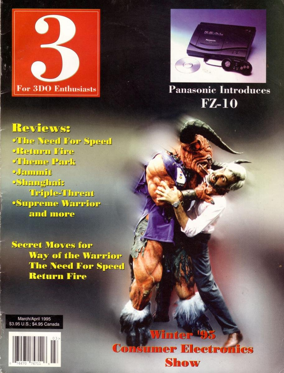 3 For 3DO Enthusiasts Issue 03 March April 1995
