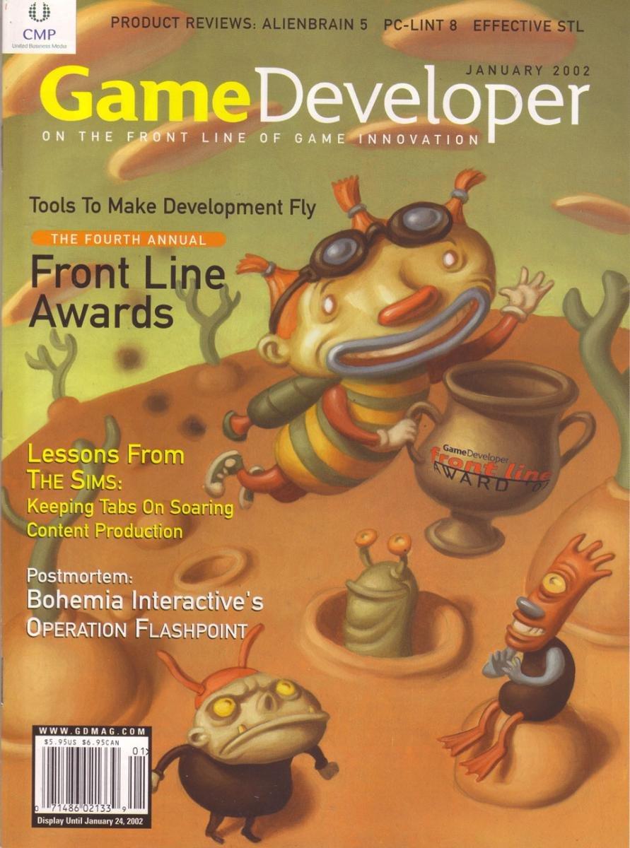 Game Developer 074 Jan 2002