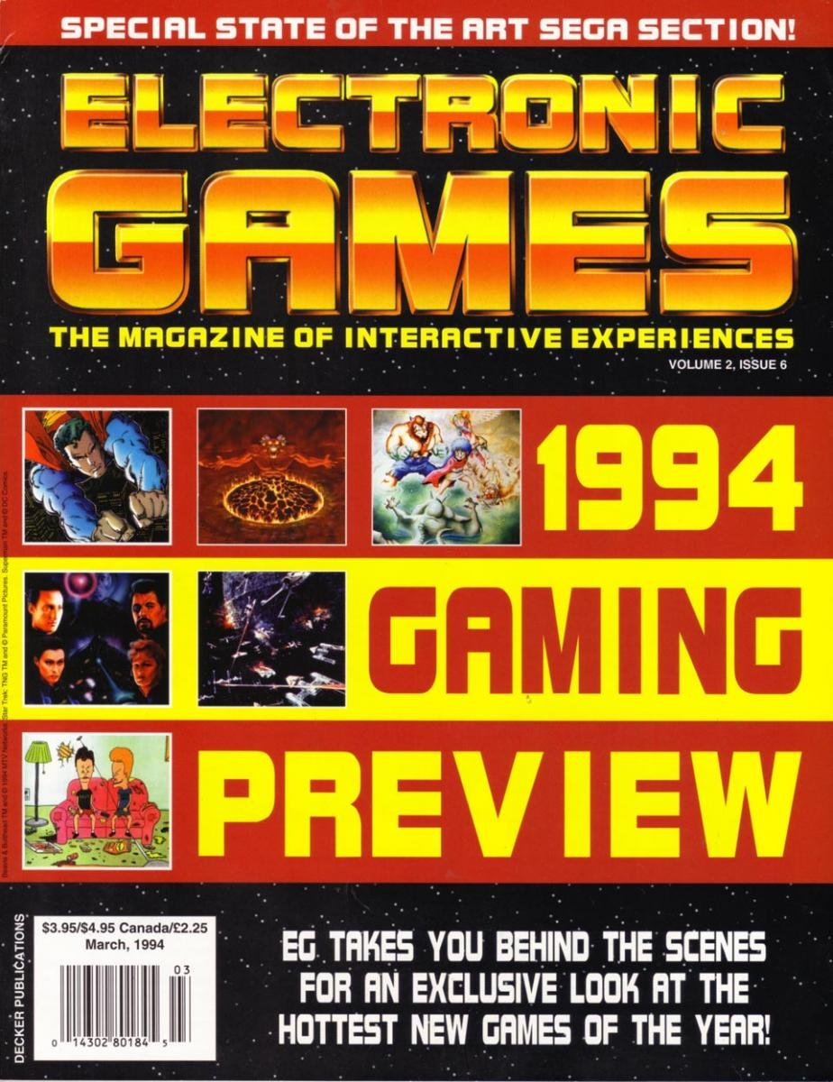 Electronic Games 052 Mar 1994 Vol 2 Issue 006
