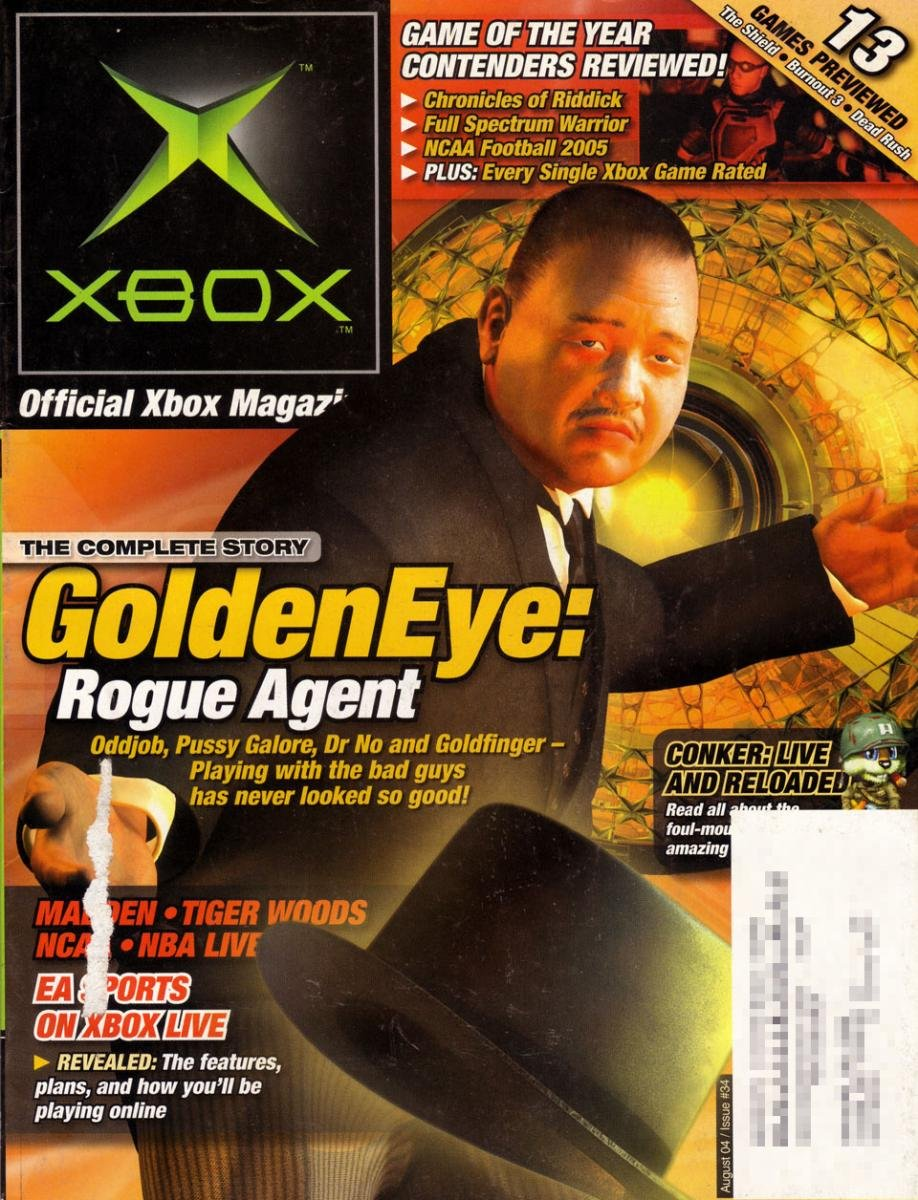 Official Xbox Magazine 034 August 2004