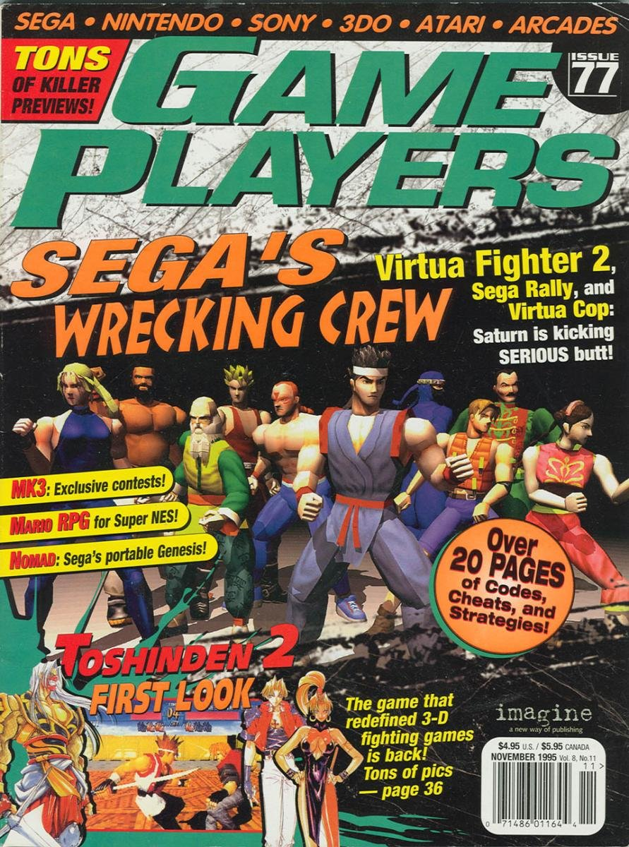 Game Players Issue 077 November 1995